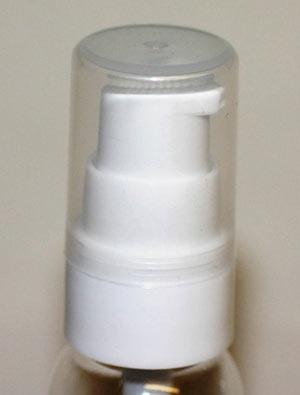 bouchon pompe crème blanc pour falcon 30ml pet