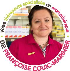 Docteur Françoise Couic-Marinier, votre thérapeute spécialisée en aromathérapie