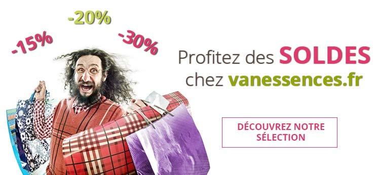 Profitez des Soldes 2019 chez vanessences.fr
