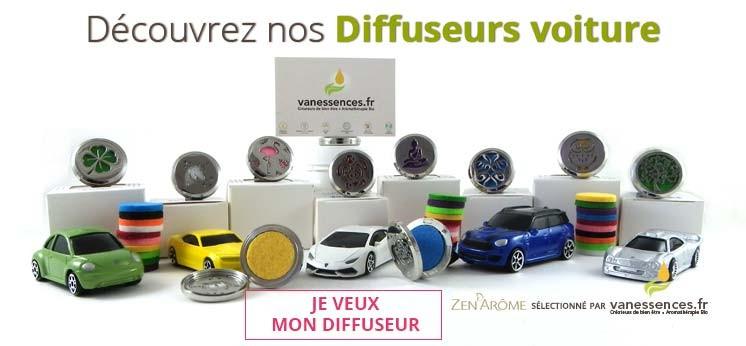 Diffuseurs d'huiles essentielles pour voiture
